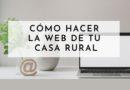 como hacer web casa rural