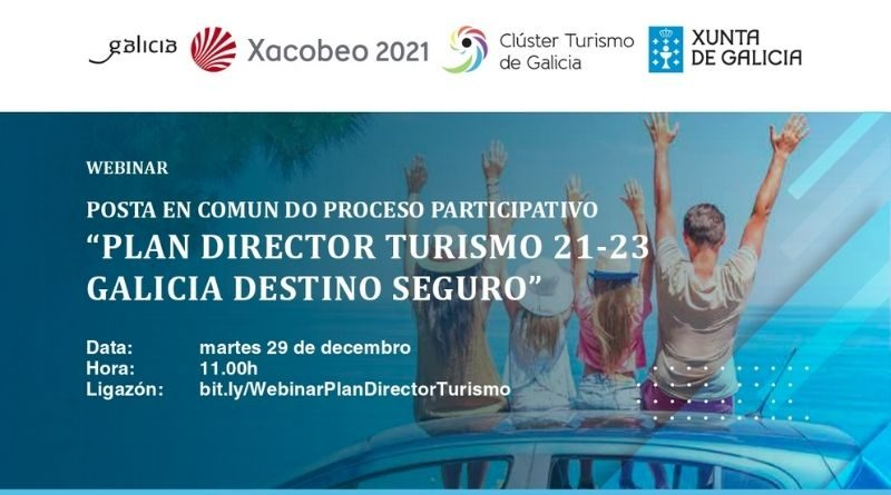webinar plan director turismo galicia destino seguro
